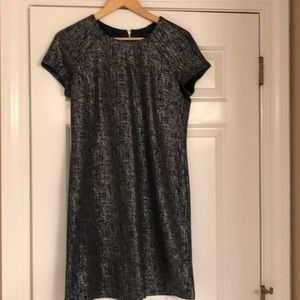 Women's. Tommy Hilfiger metallic dress   Size 6
